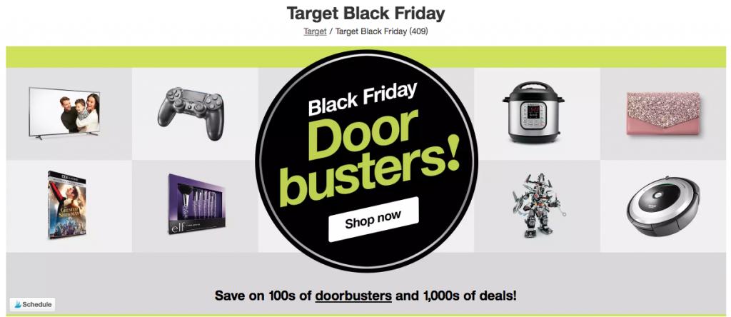 Black Friday deals target