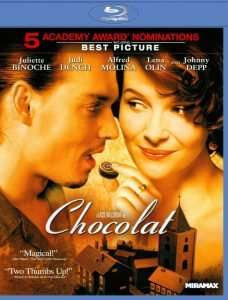 Chocolat DVD for christmas