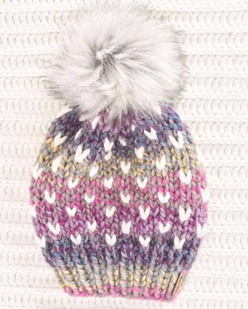 Faux Fur Pom Pom Multicolored