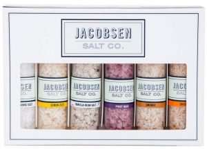 Foodie gift ideas, Jacobsen Salt Co. Gift Set