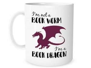 Gifts for Book Lovers That Aren't Books, I'm Not A Book Worm, I'm A Book Dragon