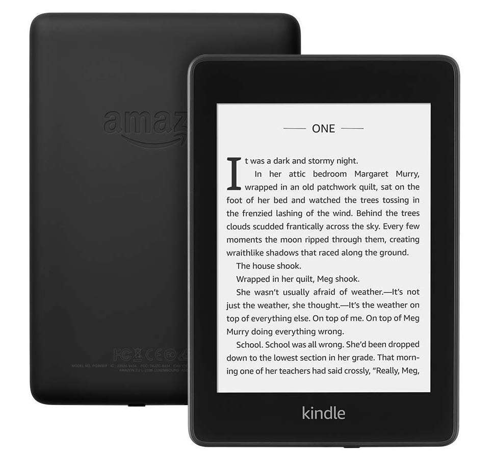 Gifts for Book Lovers That Aren't Books, Kindle Paperwhite, Waterproof