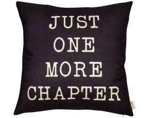 Literary Throw Pillow Cushion Cover
