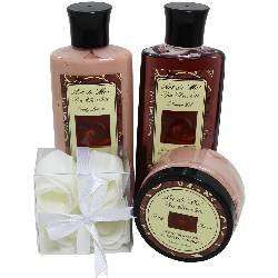 chocolate gifts, Chocolate Truffle Spa Gift Set