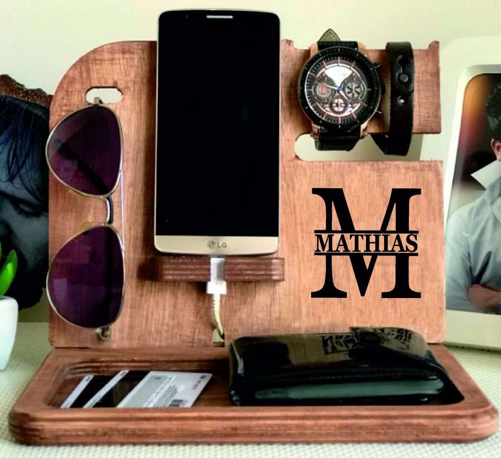 Customized Docking Station, valentine's day gift for boyfriend