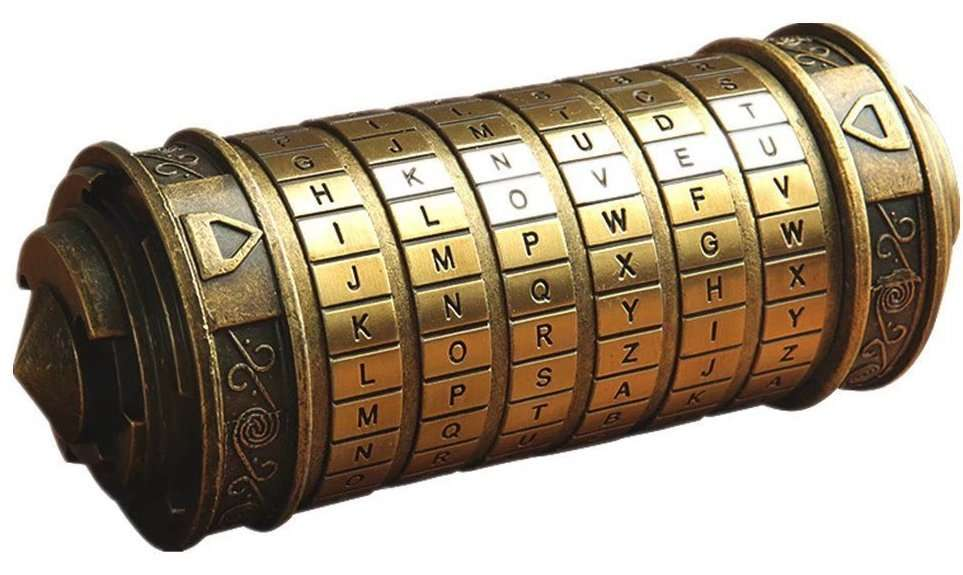 Da Vinci Code Mini Cryptex, valentines day gifts for her