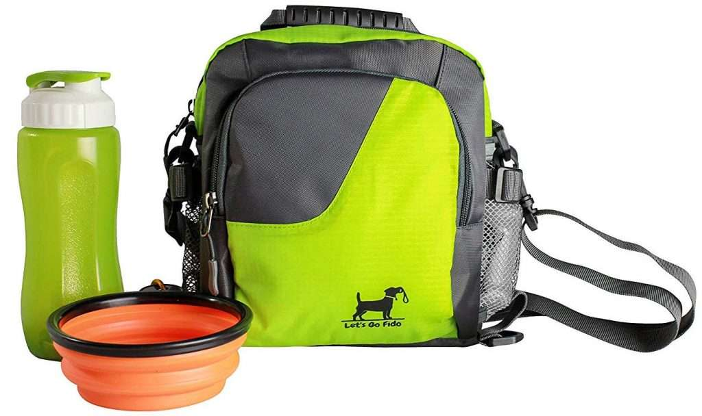Dog Walking Bag:Travel Accessories, unique gift for dog lovers
