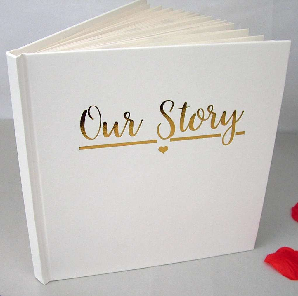 Our Story Memory Book, valentines day gift for husband