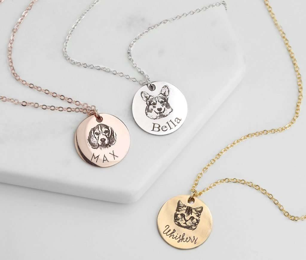 Personalized Pet Jewelry, dog lover gifts