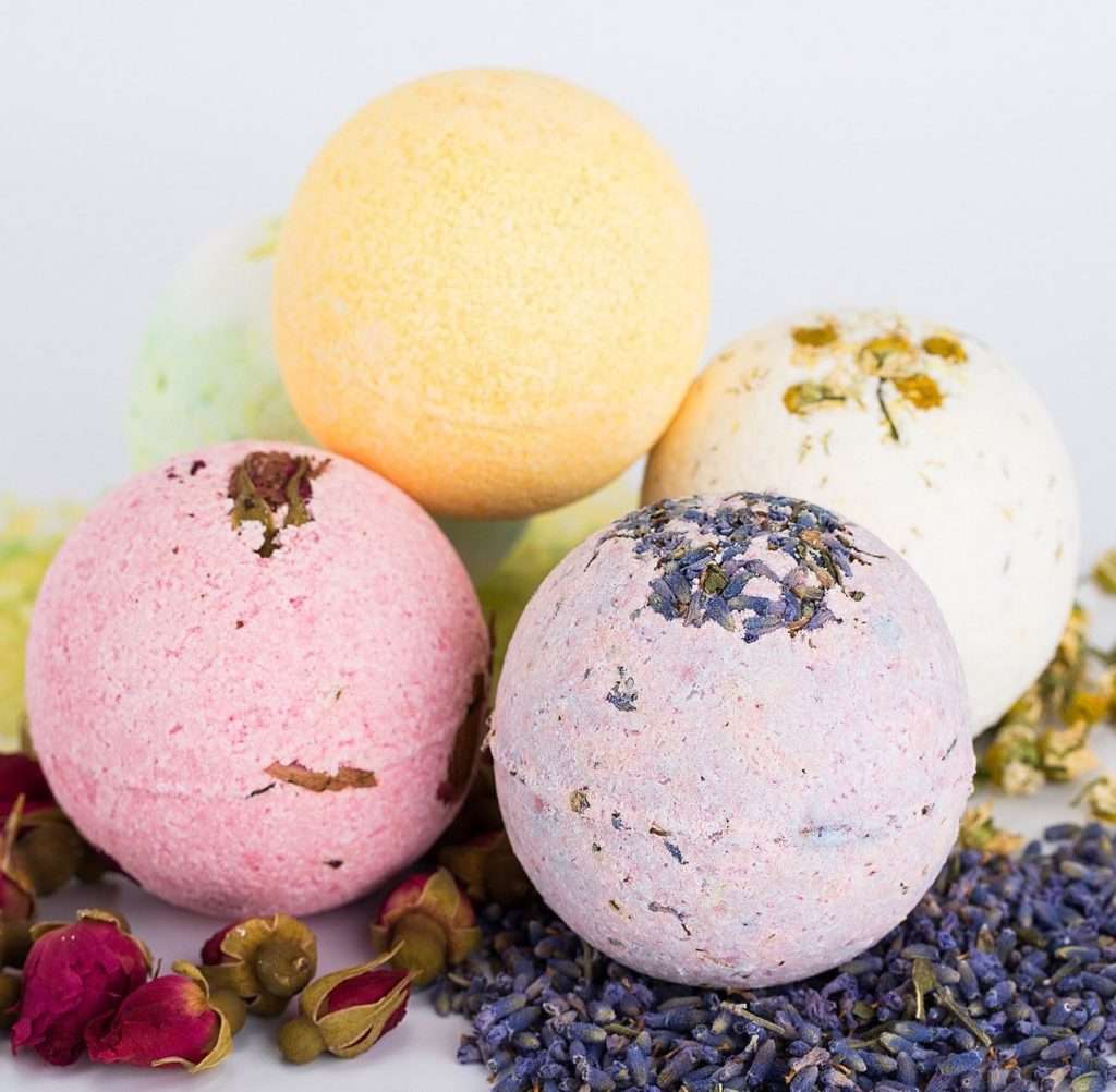 Premium Lush Bath Bombs Set, best valentines day gifts for girlfriend