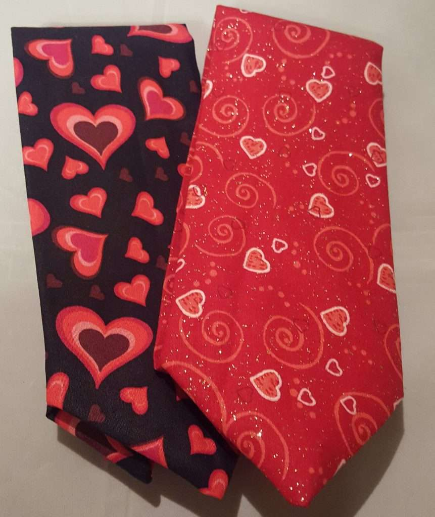 Valentine's Day Neckties, valentines day gift for husband