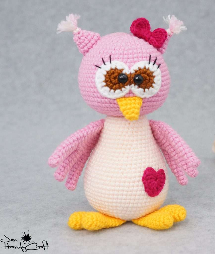 Valentine's Stuffed Owl with Heart, best valentines day gifts for girlfriend