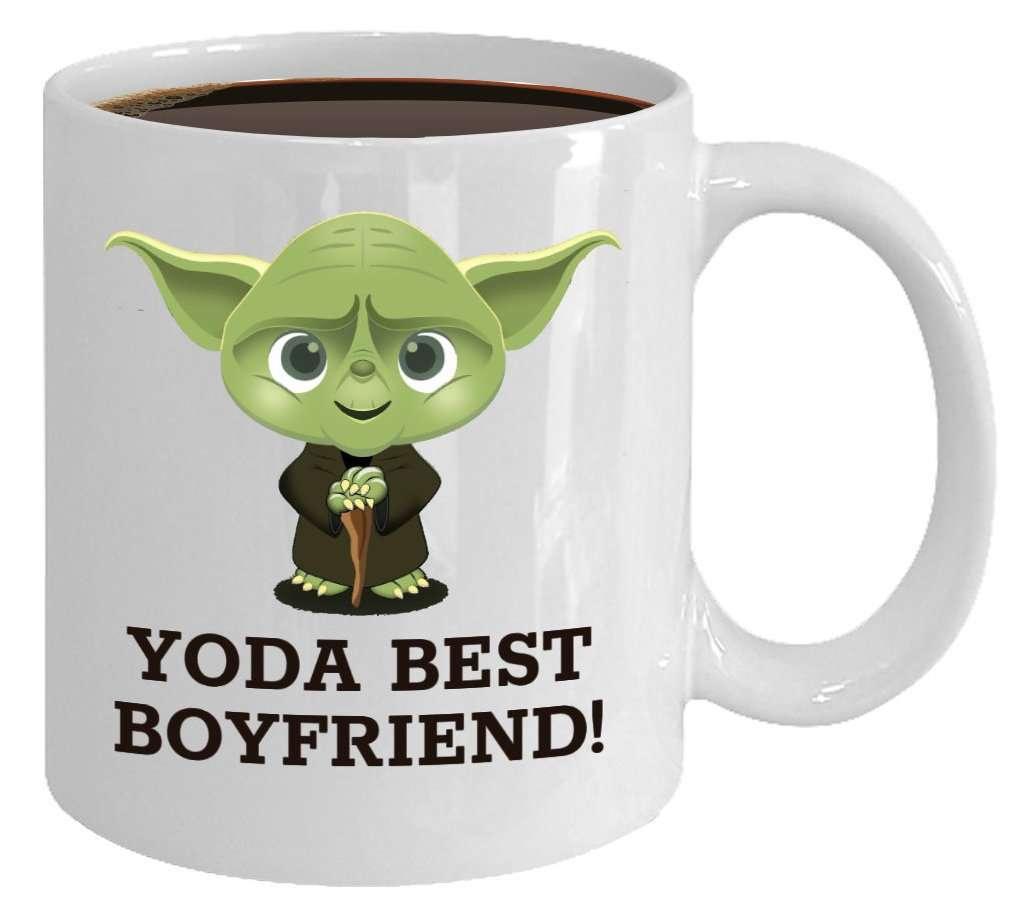 Yoda Best Boyfriend Mug, valentine's day gift for husband
