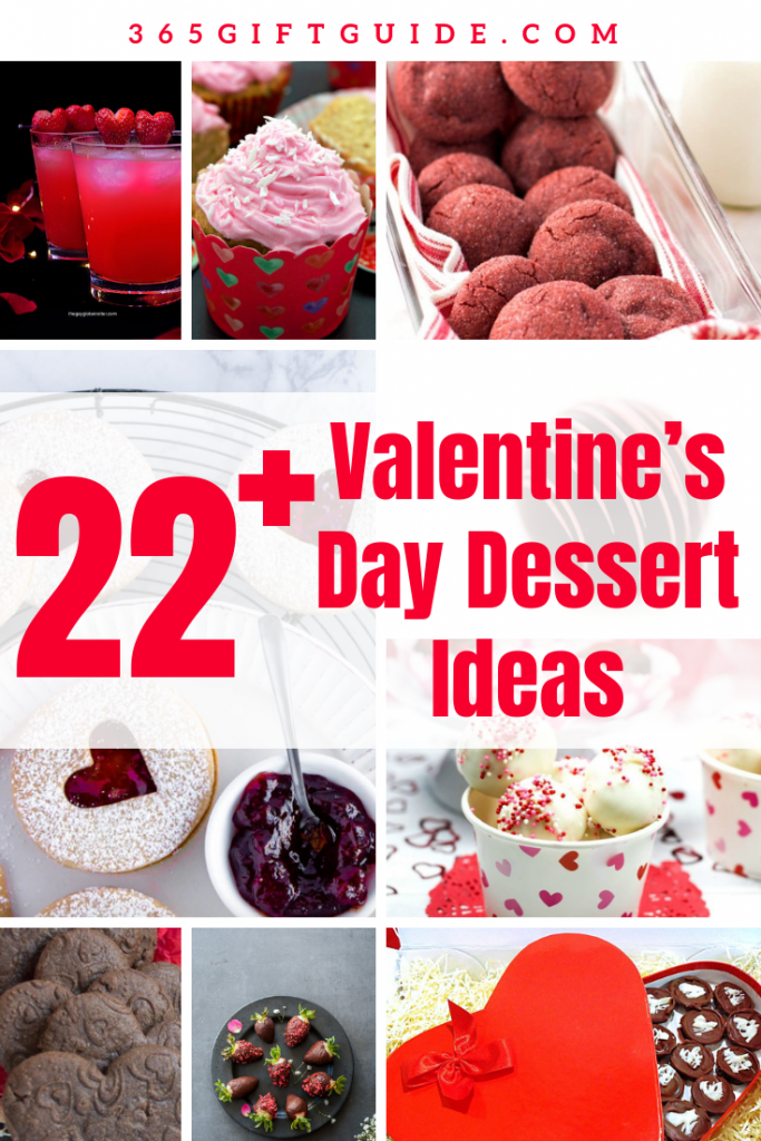 22 Valentine's Day Dessert Ideas, DIY Gift Ideas