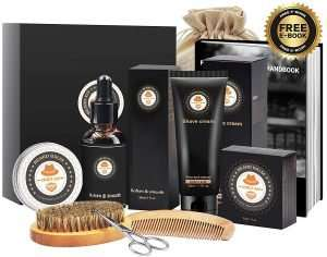 8 in 1 Beard Care Growth Grooming Kit