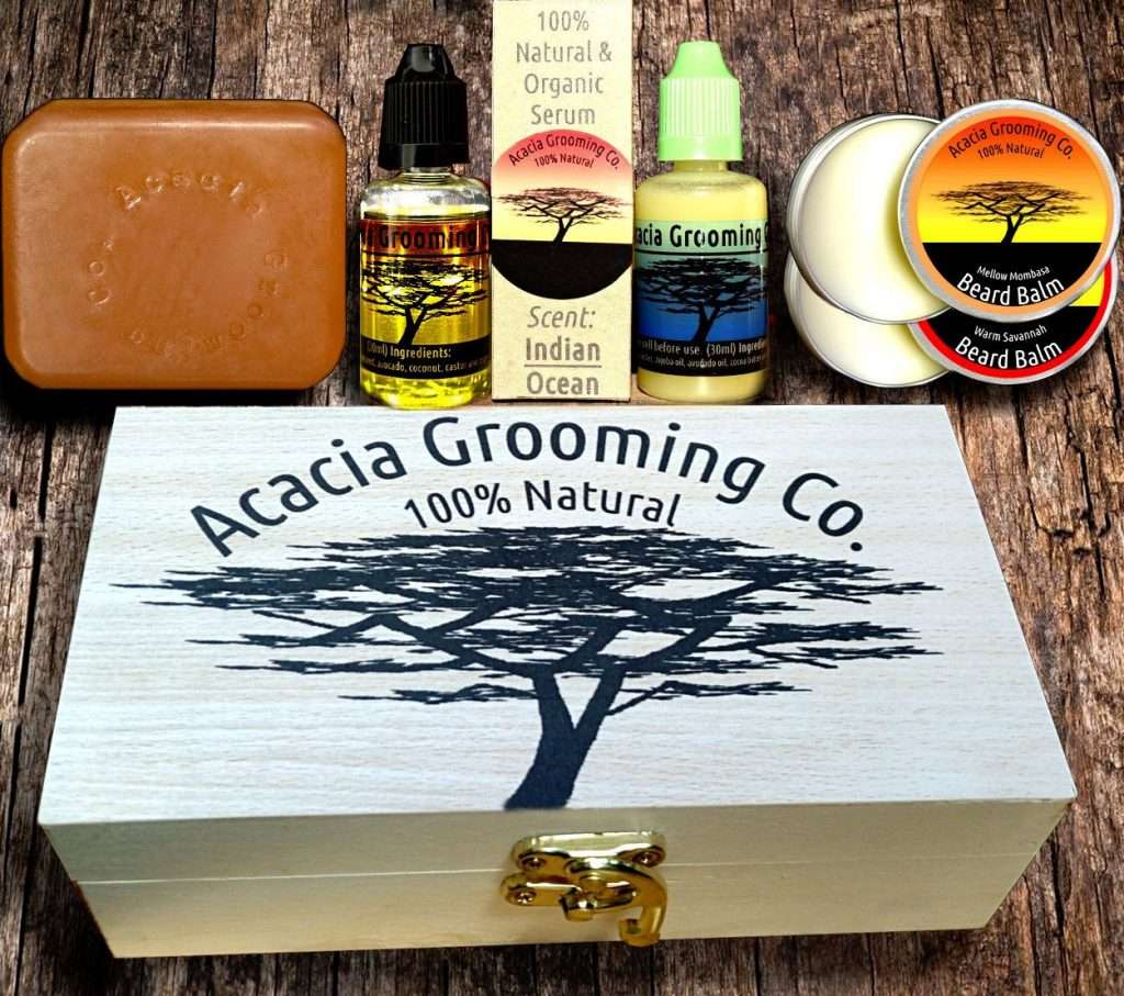 Acacia Grooming Co. Personalized Beard Gift Box