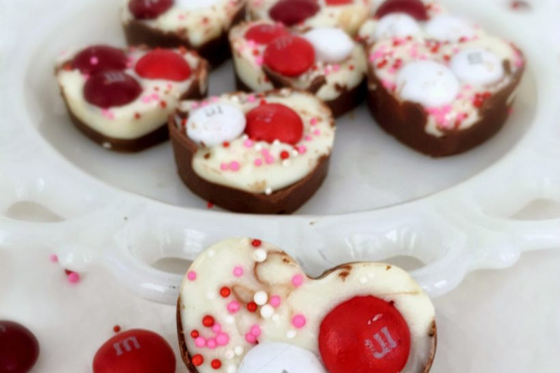Red Velvet candy hearts