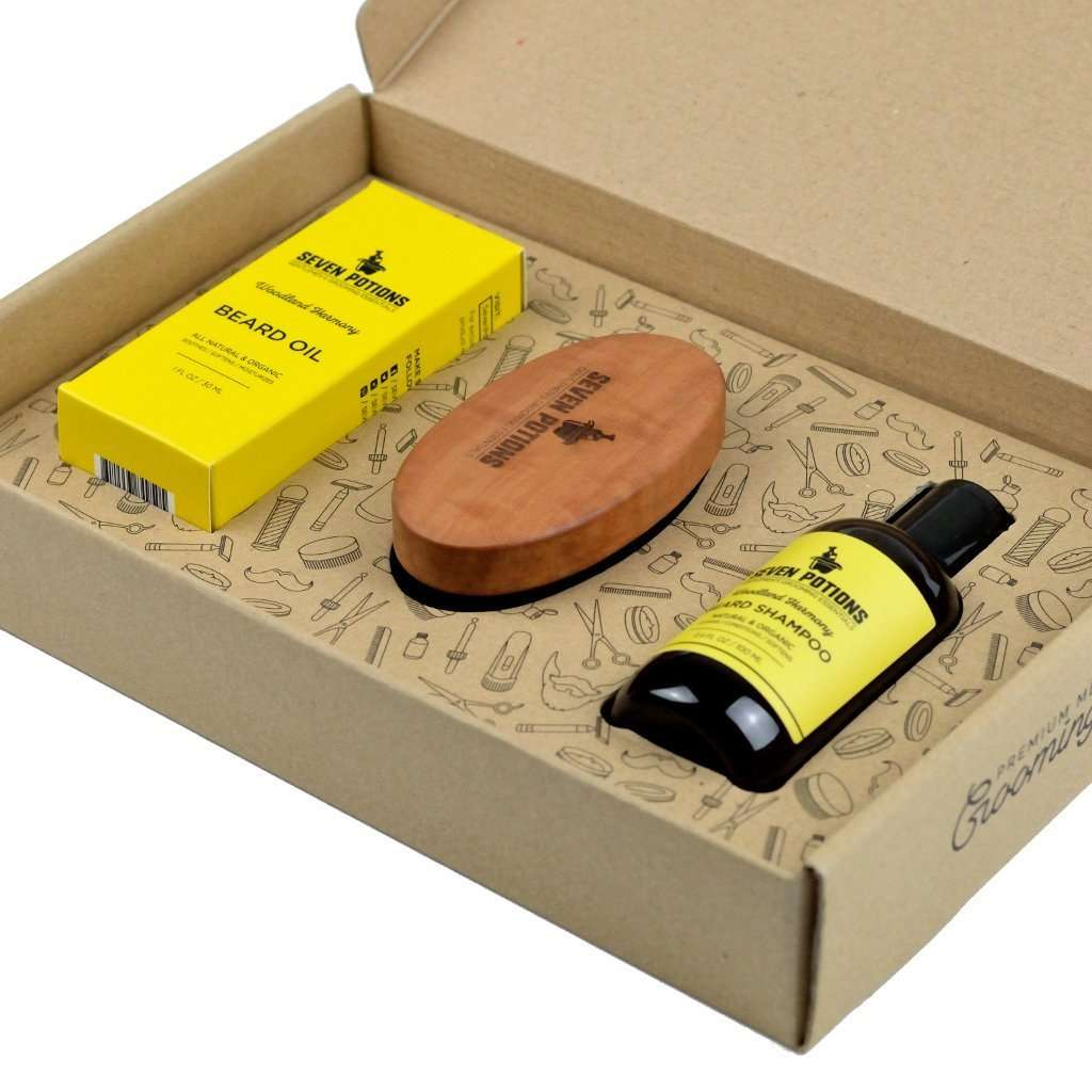 Seven Potions Beard Grooming Set