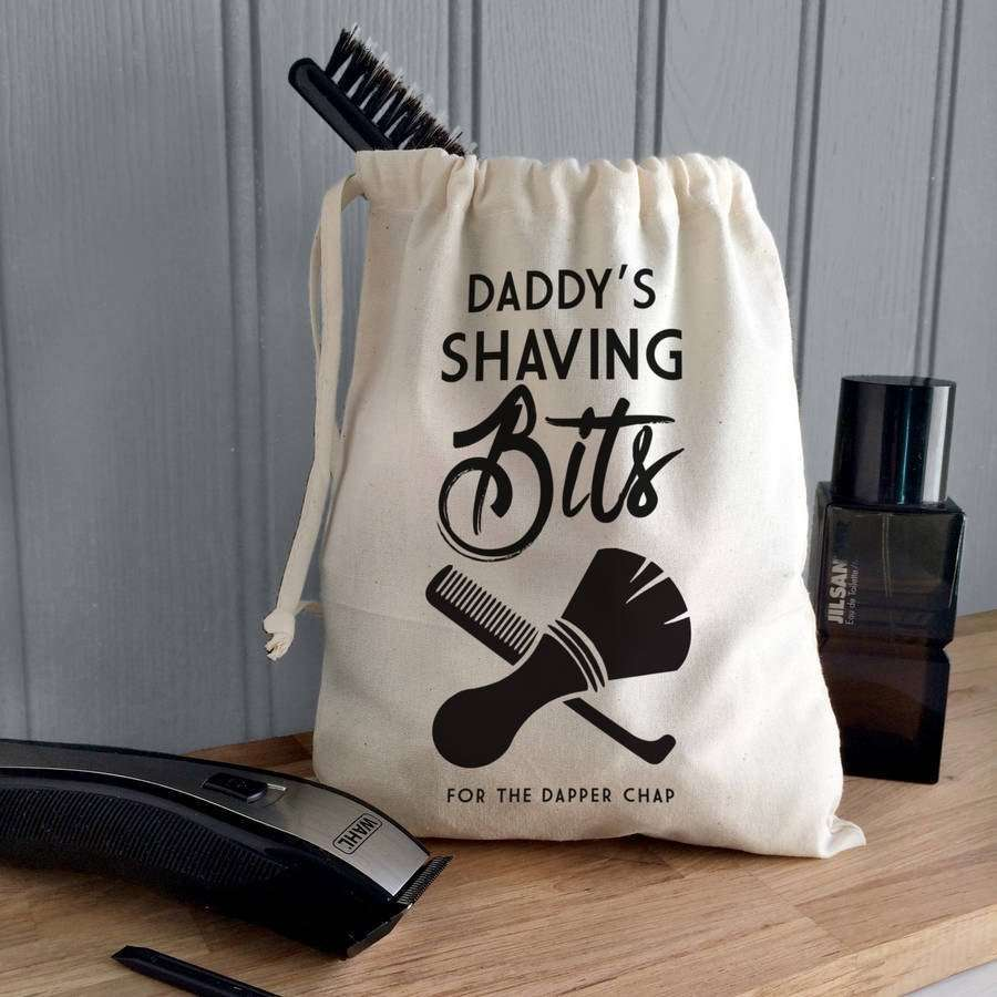 Shaving Kit Storage Bag
