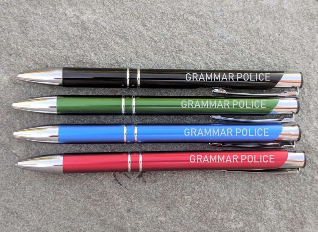 Gramma Police Unique Pen