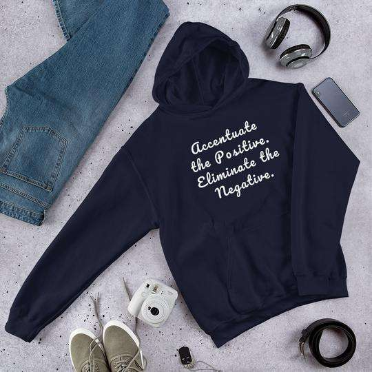 Positive Message Hooded Sweatshirt, motivational gifts
