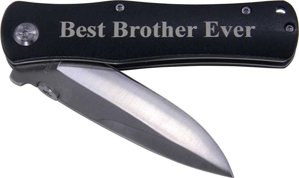 Best Brother Ever Folding Pocket Knife