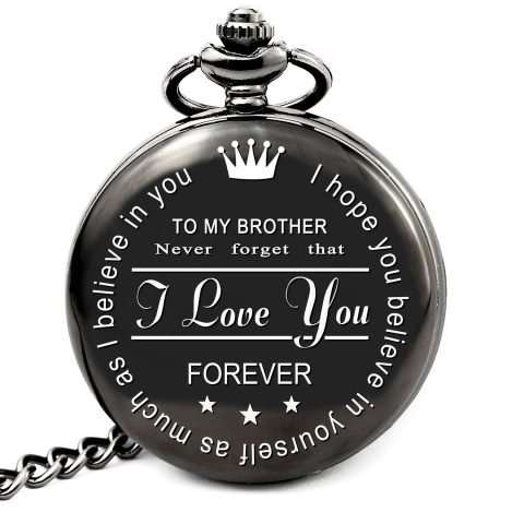To My Brother Pocket Watch