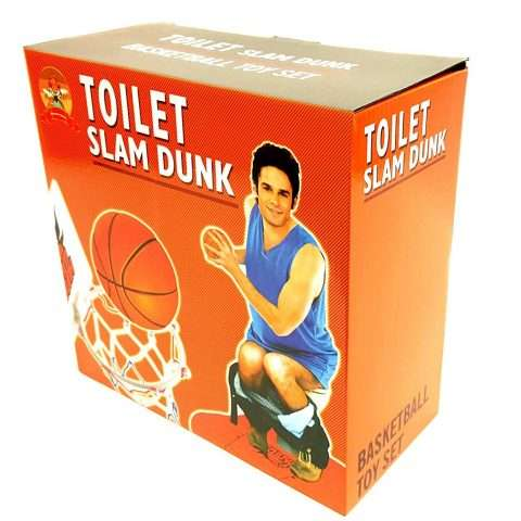Toilet Basketball Novelty Gift