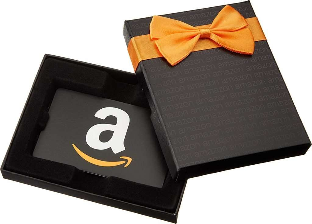 Amazon Gift Card classic black box teacher appreciation day