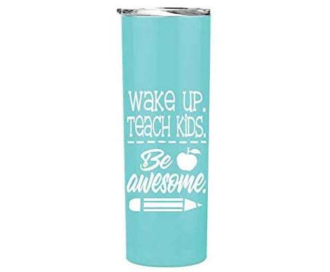 Be Awesome Teacher Tumbler