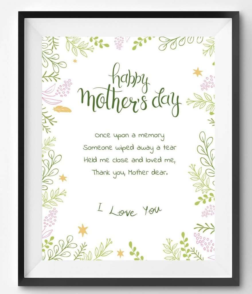 Personalised ALWAYS MY MOTHER FOREVER MY FRIEND Foil Word Art Print Mother/'s Day