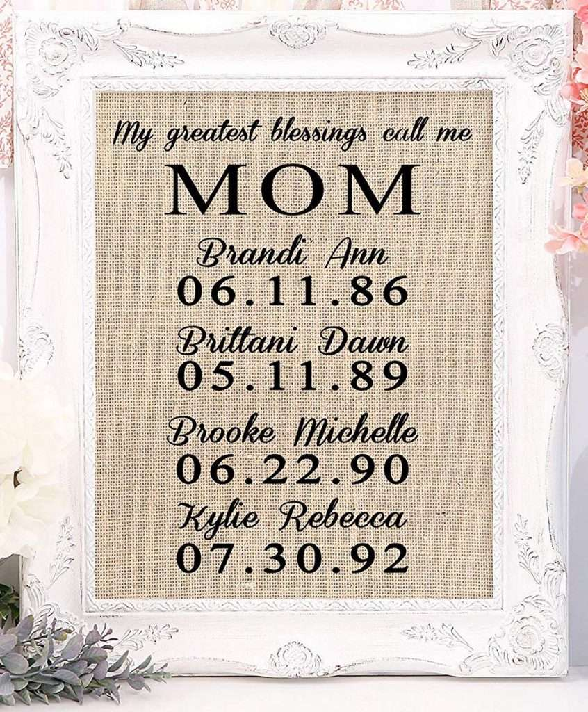 Mother's Day Star Map