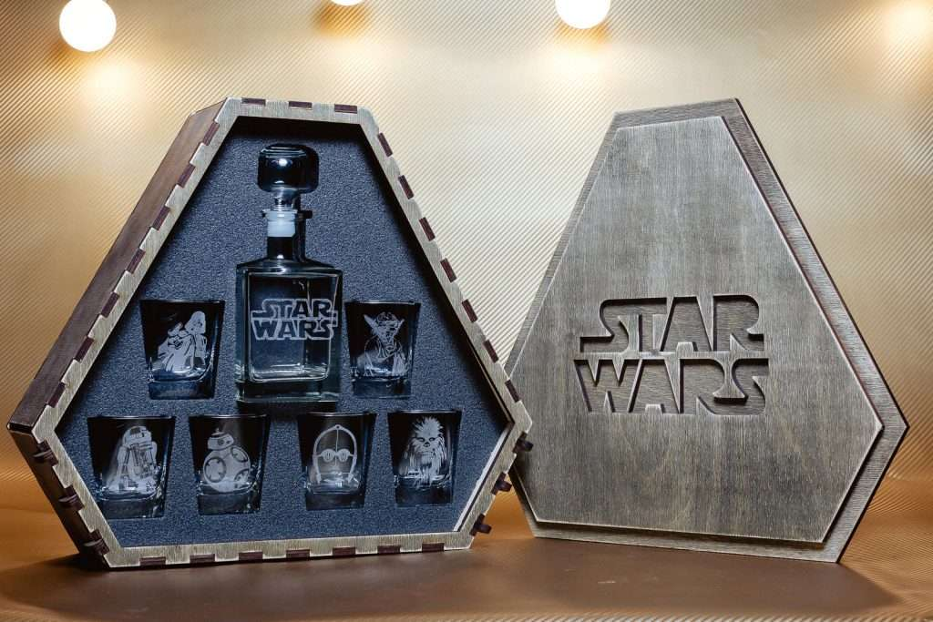 Star Wars Whiskey Decanter Set