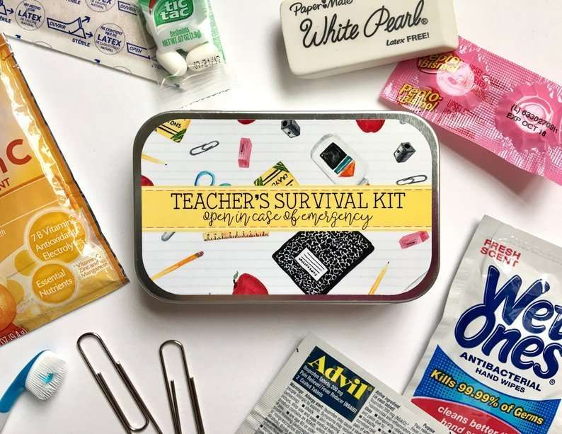 Teacher's Survival Kit Gift