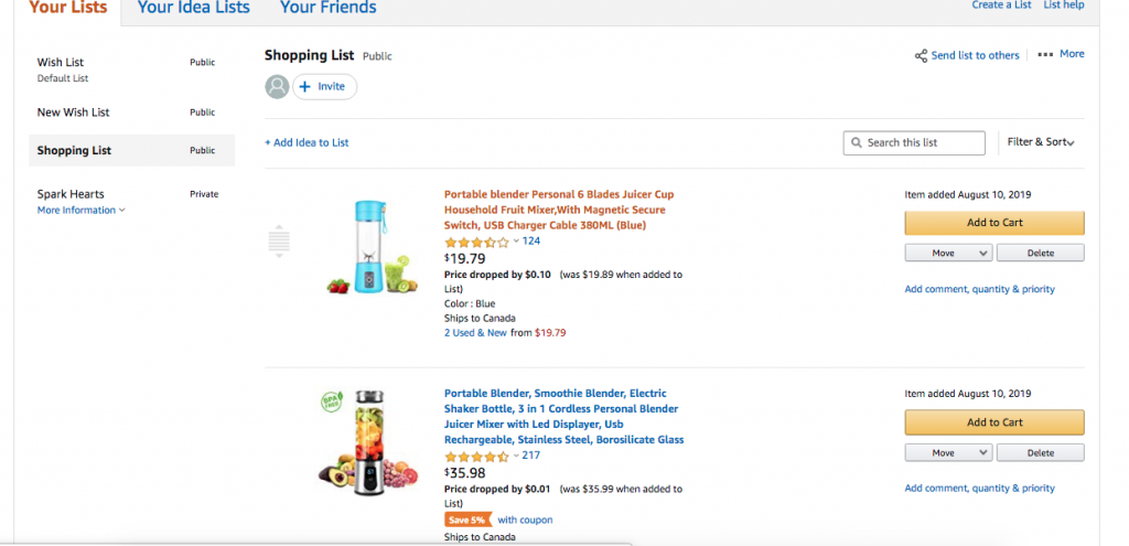 How to Create Your Own Amazon Wish List
