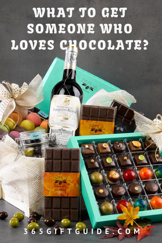 What to get someone who loves chocolate