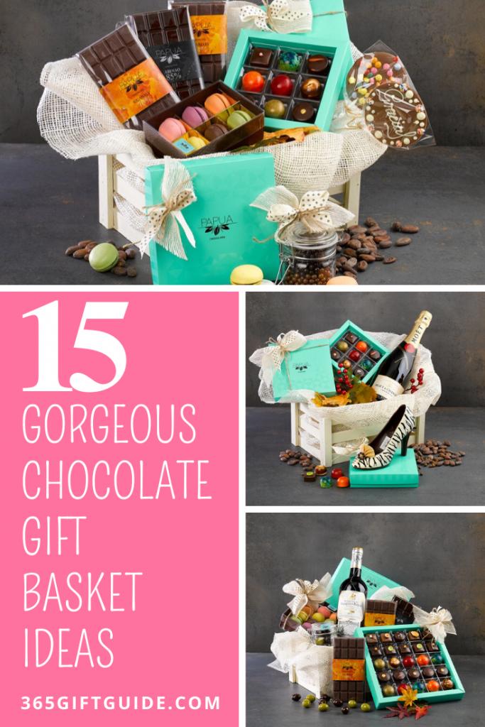 15 gorgeous chocolate gift basket ideas