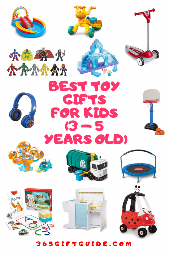 Best toy gifts for 3 to 5 year olds