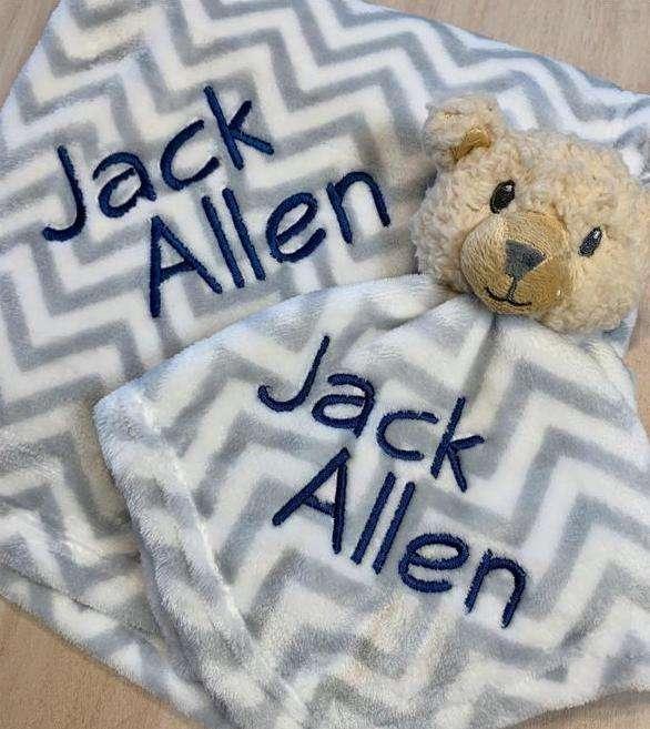 20 Plus Monogrammed Baby Gift Ideas