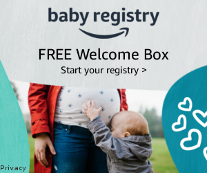 Free welcome box with Amazon baby registry