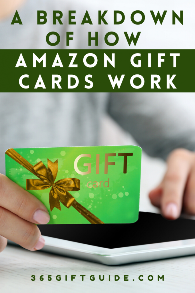A breakdown of how Amazon gift cards work