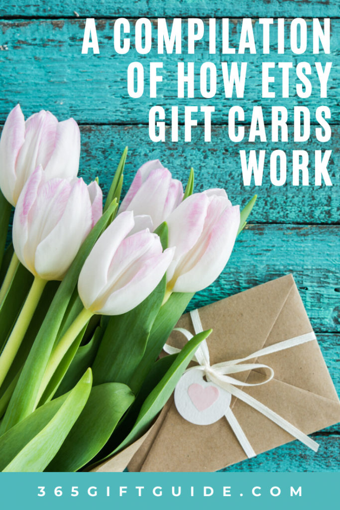 A compilation of how etsy gift cards work