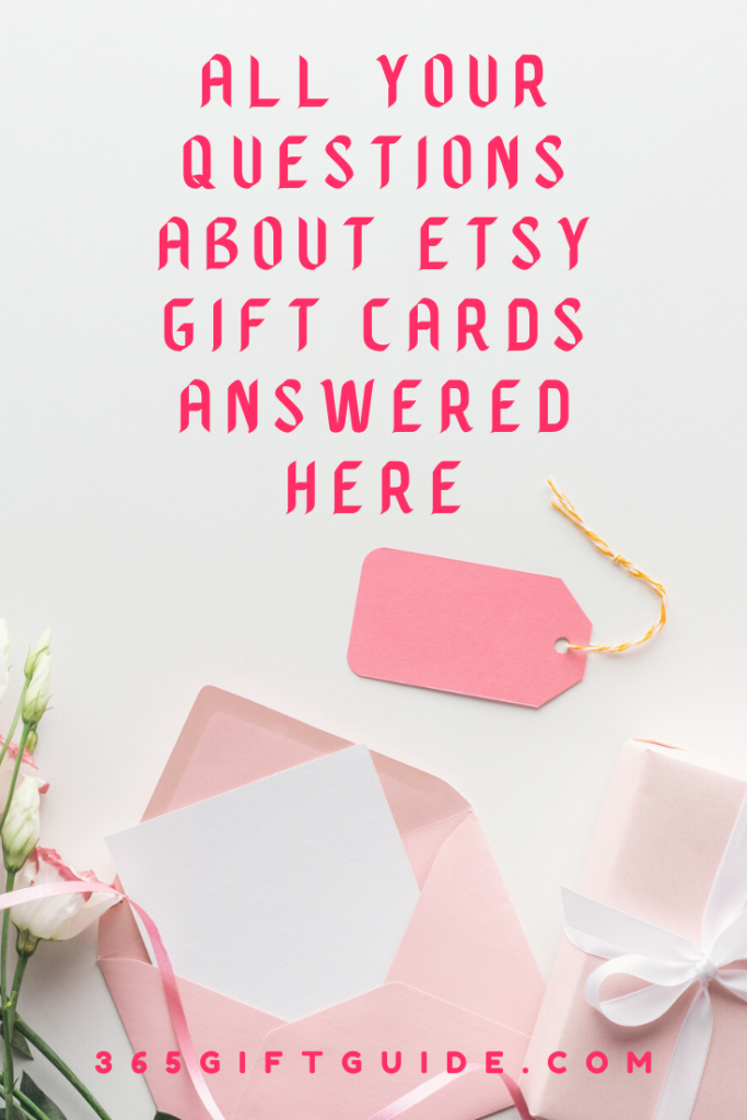 All your questions about Etsy Gift Cards answered