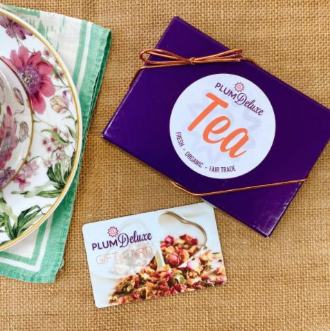 Plum Deluxe Tea Gift Card