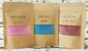 Isolation Organic Bath Salts