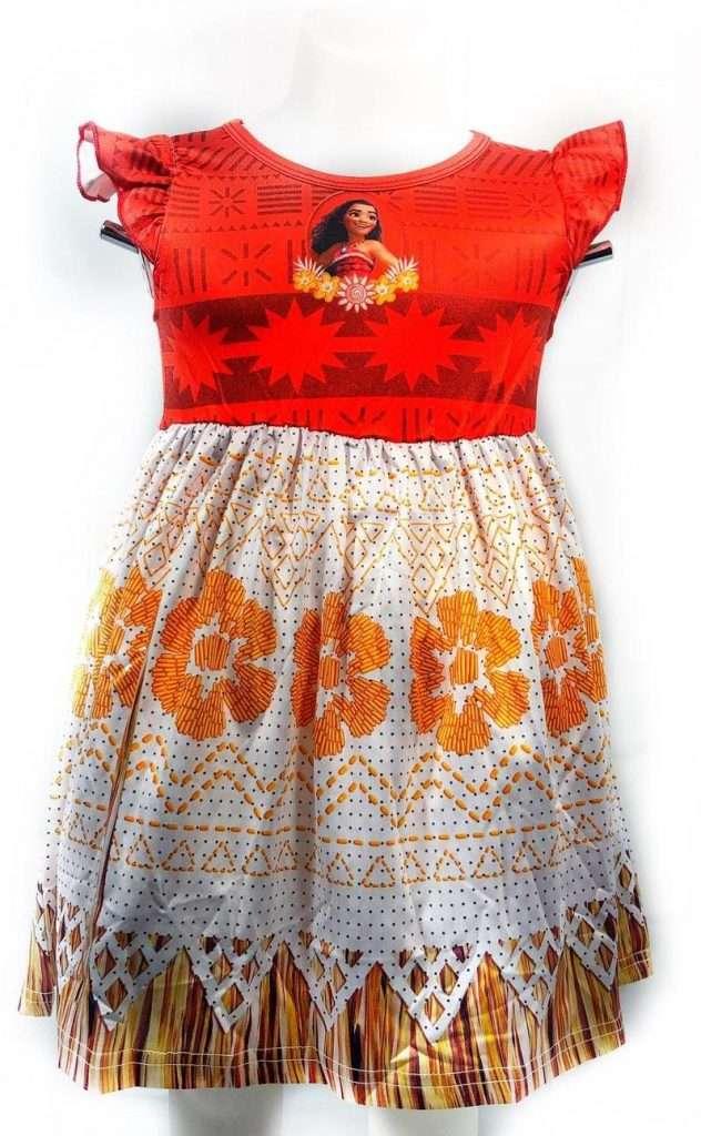 Moana Inspired Dress