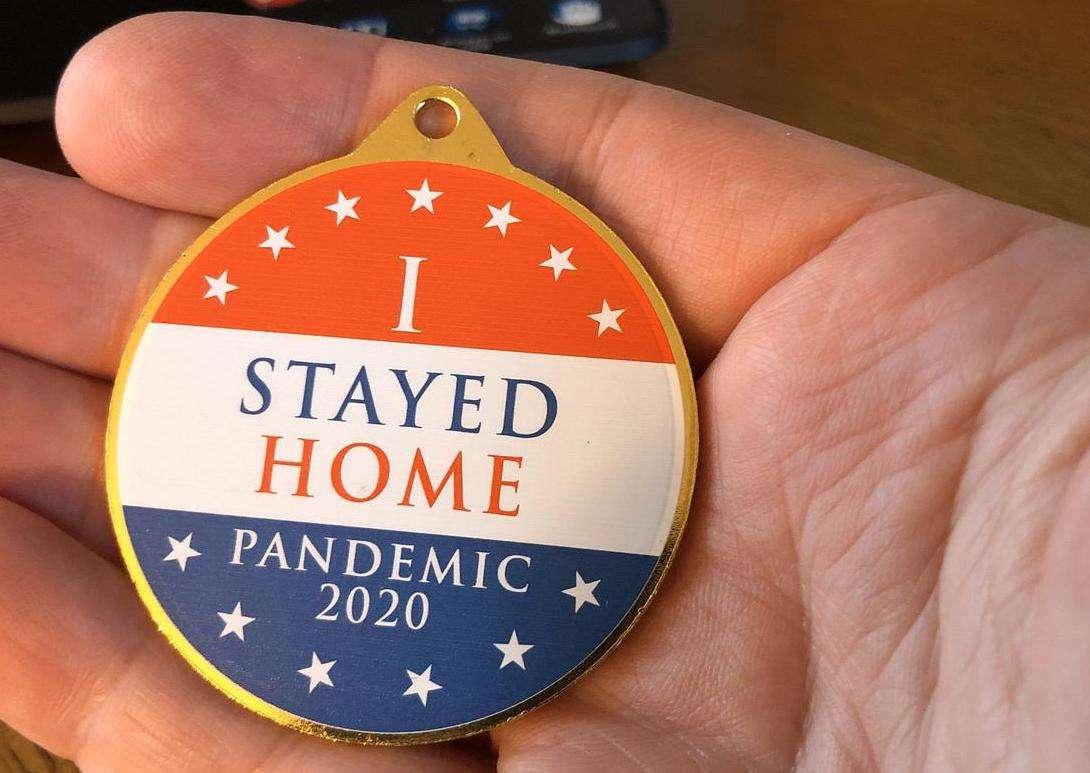 Pandemic 2020 Keepsake