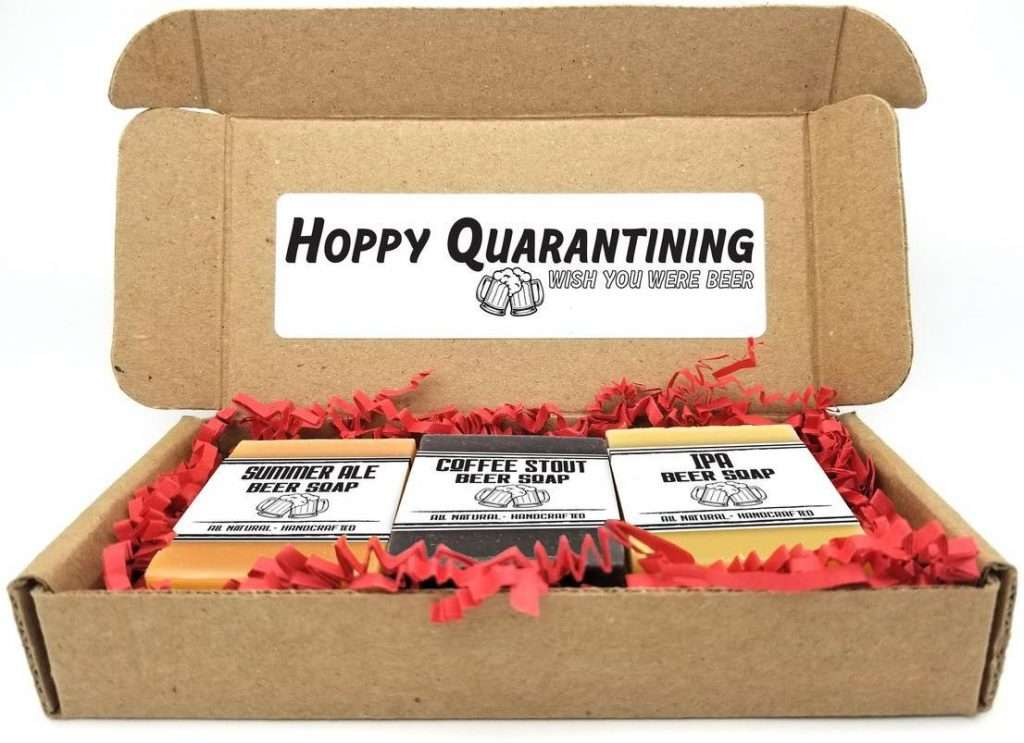 Quarantine Beer Soap Gift Set