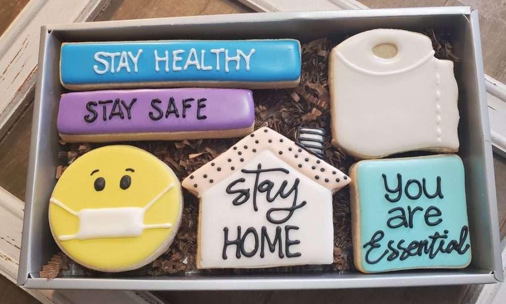 Quarantine Cookies Gift Set