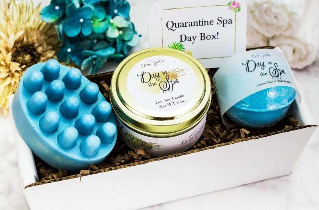 Quarantine Spa Gift Basket